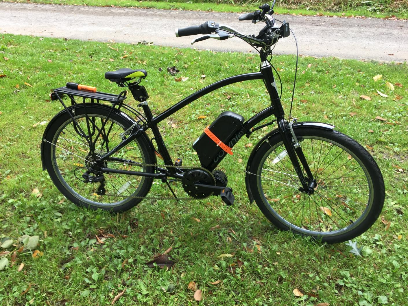 E Bike Conversion For Dummies Electra Townie With Luna