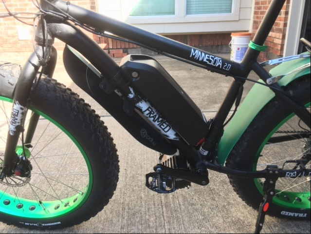 Framed Minnesota 2.0 Fat Bike Conversion - Electricbike.com Ebike Forum