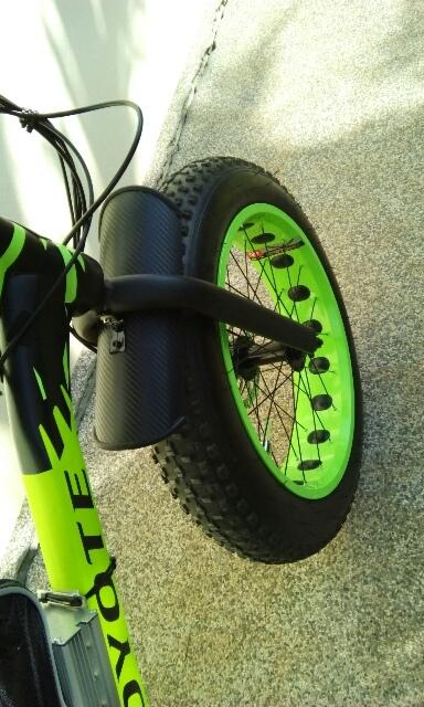 Diy Crud Catcher Front Fender For Mini Fat Bike Electricbike