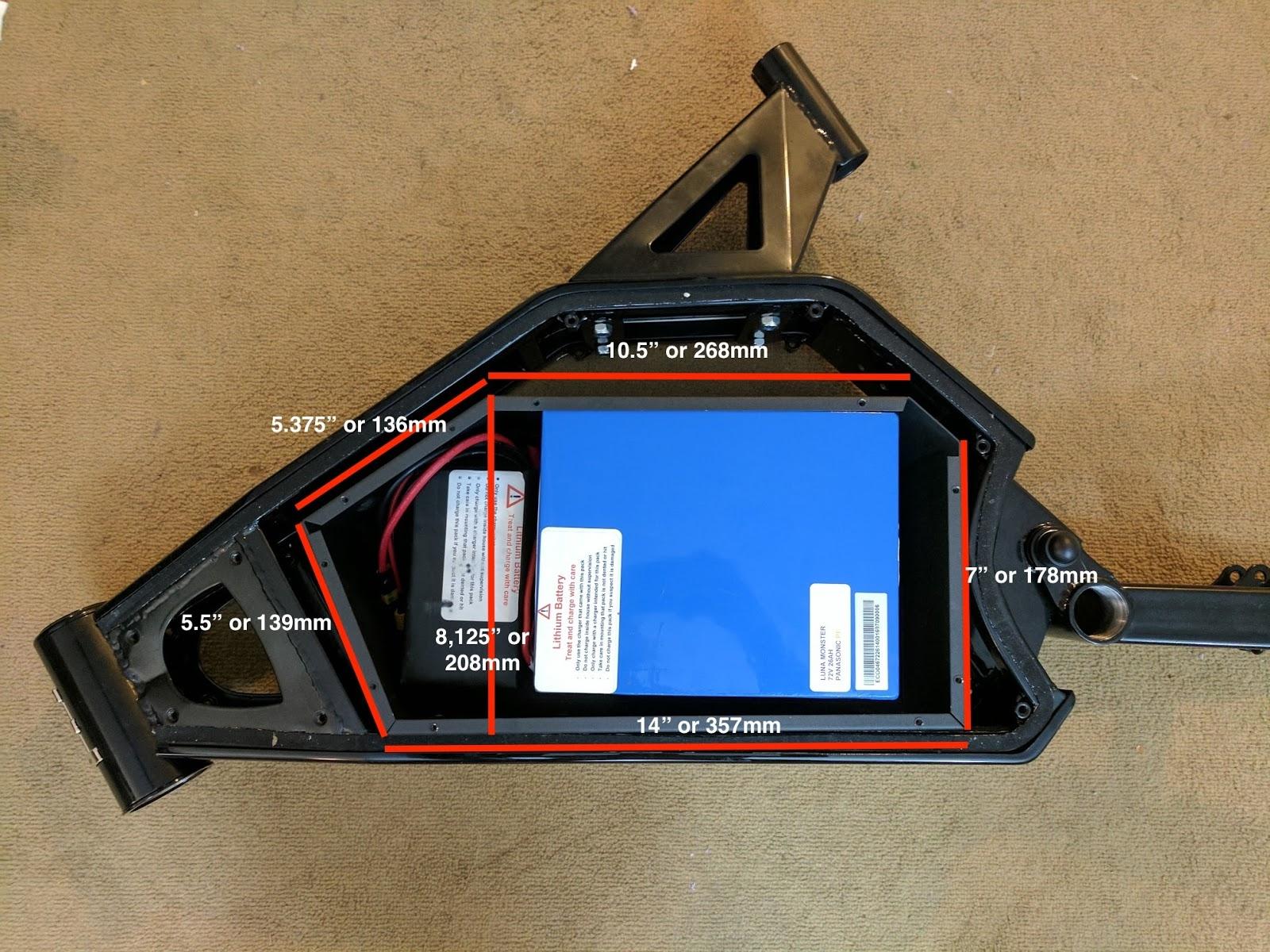 enduro ebike frame documentation - Ebike Frame