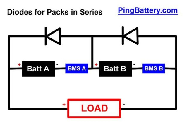 Paralleling Bms Protected Li Ion Packs Electricbike Com