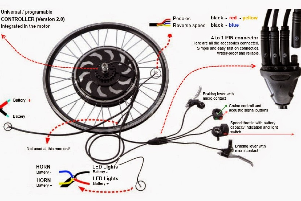 Electric Bike Wiring Diagram - Best Wiring Diagram Image 2018
