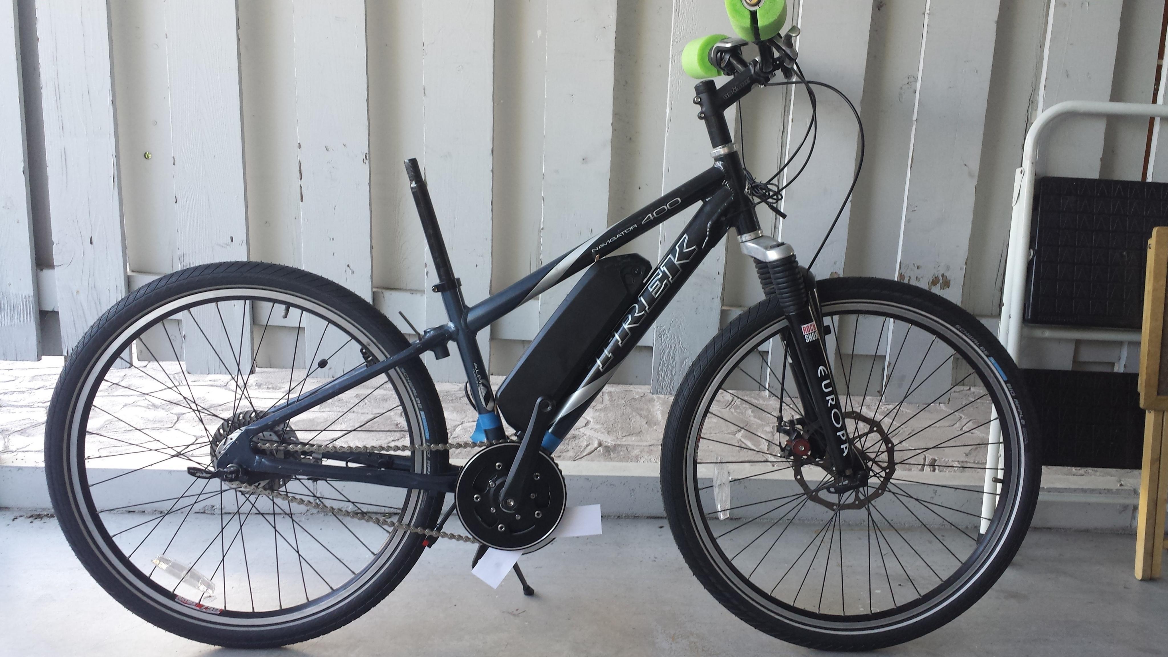 Trek Navigator 400 IGH TSDZ2 project  - Electricbike com