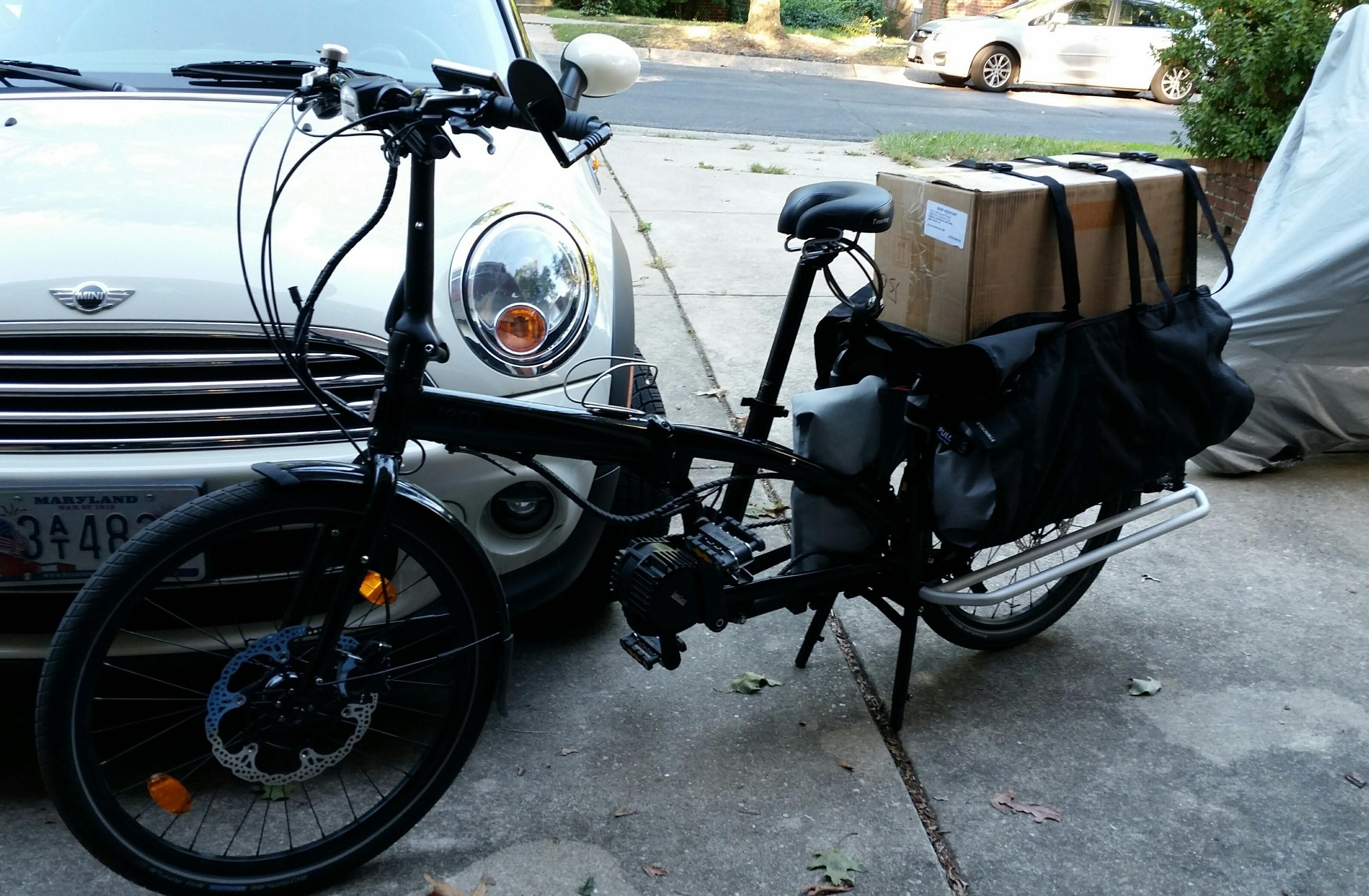 Small wheel compact cargo e-bikes | Electric Bike Forum - Q&A, Help