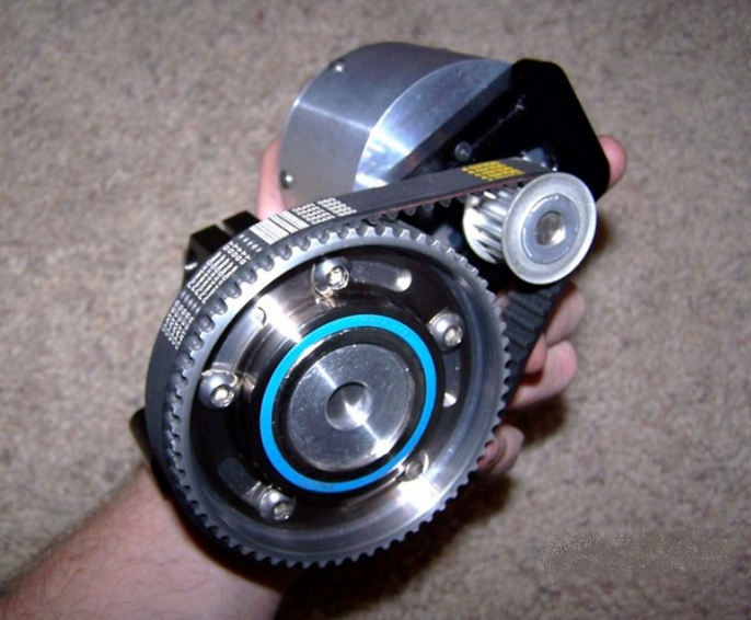 This custom mid drive is from 2008 using premium for Freewheel sprocket for electric motor